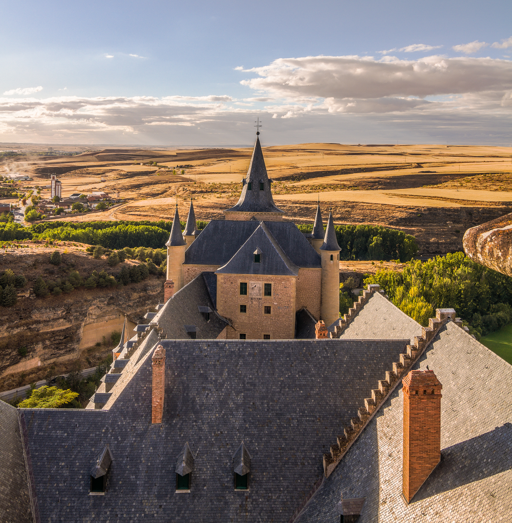 Alcázar de Segovia, Castilla y León, España.